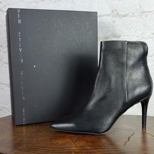Steven by Steve Madden Leila leather boot size 10M